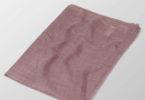 liliowy szal z welny