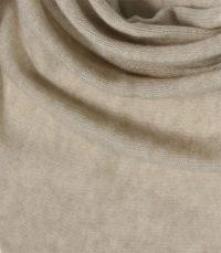 szal kaszmirowy chusta w kolorze bezowym