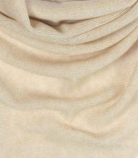 szal kaszmirowy chusta w kolorze bezowa