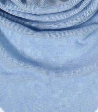 szal kaszmirowy chusta w kolorze blekitna