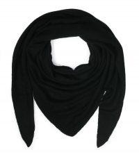 szal kaszmirowy chusta w kolorze czarnym