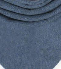 szal kaszmirowy chusta w kolorze denim blue