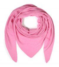 szal kaszmirowy chusta w kolorze rozowym