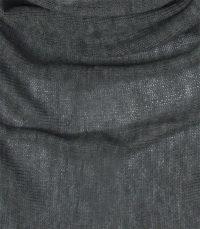 chusta welniana w kolorze grafitowym