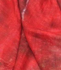szal kaszmirowy czerwony