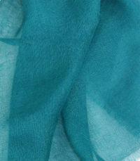 szal kaszmirowy w kolorze morskim