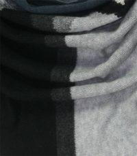 szal kaszmirowy CHUSTA w kolorze szarym