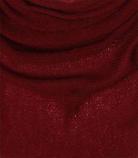 chusta welniana w kolorze bordowym