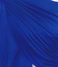 szal welniany w kolorze chabrowym z welny merino
