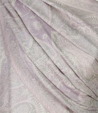 szal welniany w kolorze fioletowym z welny merino