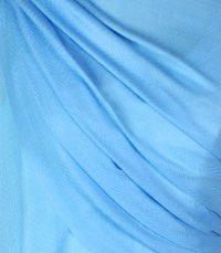szal damski welniany niebieski