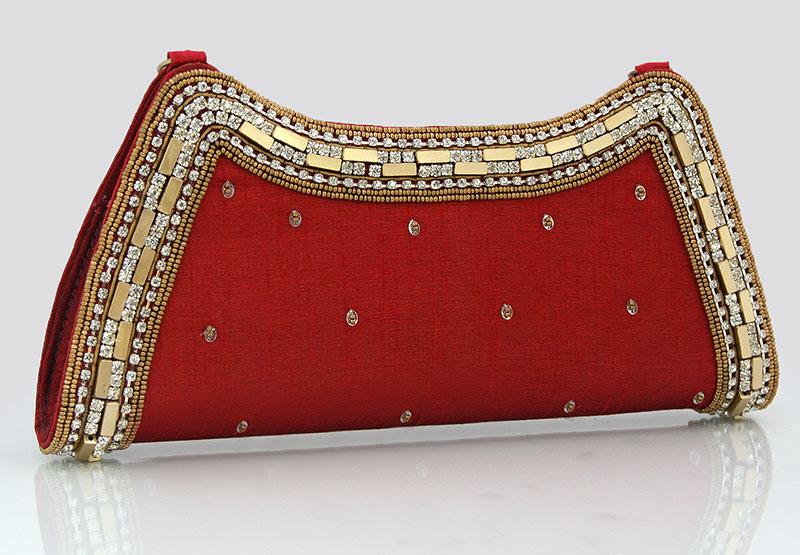 309d8586eb790 Torebka wieczorowa w kolorze czerwonym – LuxWoman – szale